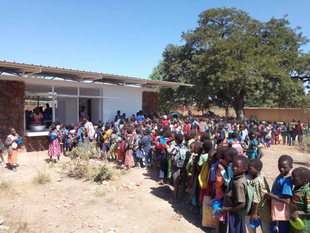 Eröffnung der Schulkantine in Koudougou